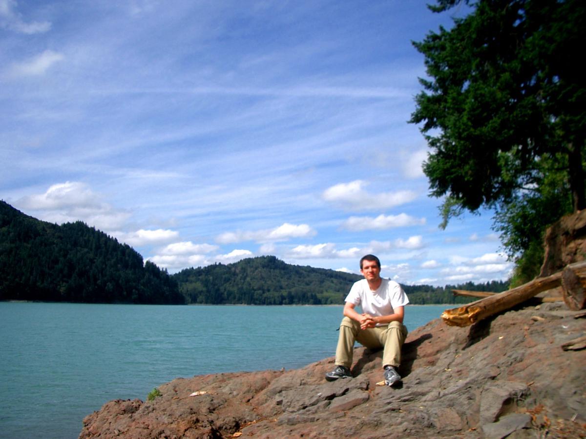Sébastien Duval at Alder Lake (Washington state, USA) in September 2005.