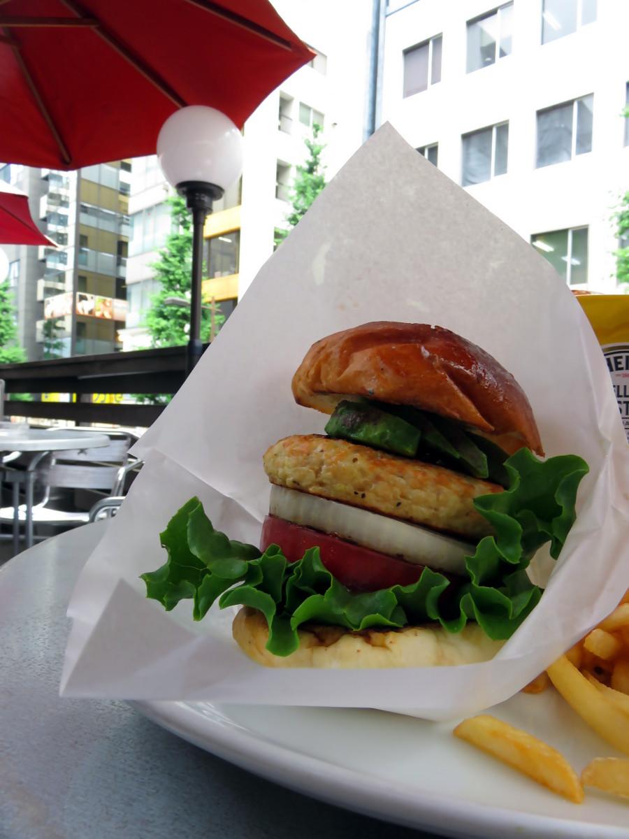 [EN-FR] Burger. [JP] バーガー。