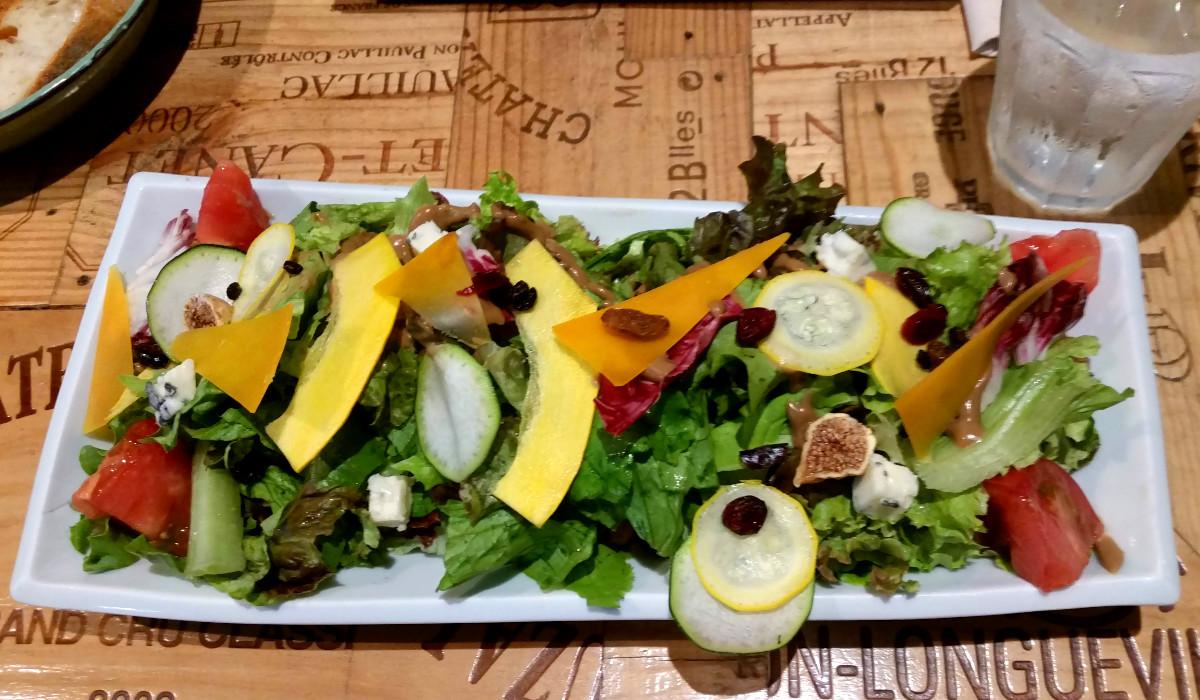 [EN] Salad. [FR] Salade. [JP] サラダ。